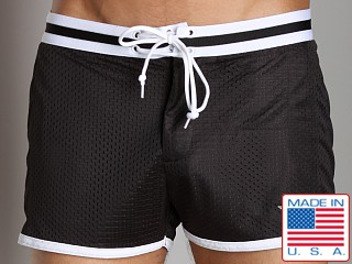 LASC Junior Varsity Mesh Swim Trunks Black