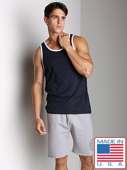 LASC Workout Tank Navy/White