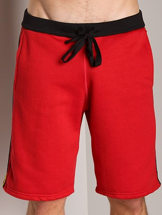 Complete the look: LASC College Sweat Short Red