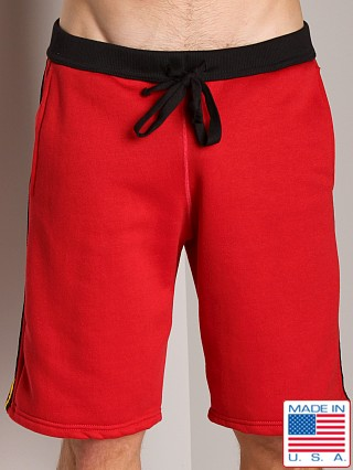 LASC College Sweat Short Red