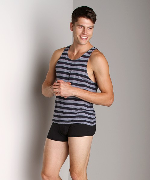 LASC Stripe Tank Top Navy/Heather