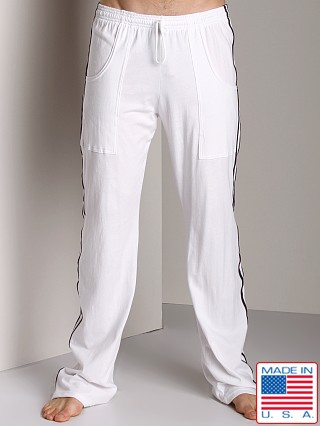 LASC Gym and Yoga Pant White