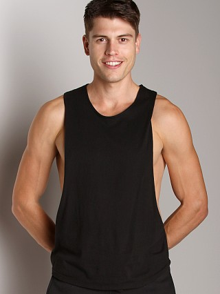 Complete the look: LASC Deep Cut Out Tee Black