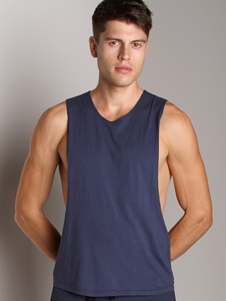 Complete the look: LASC Deep Cut Out Tee Navy