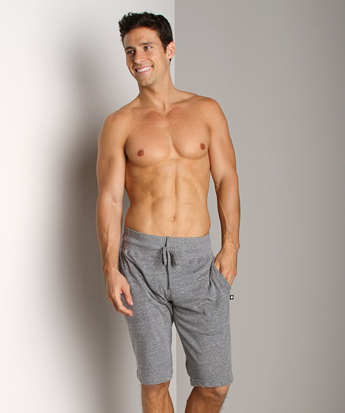 Andrew Christian Warm Up Shorts Vintage Grey