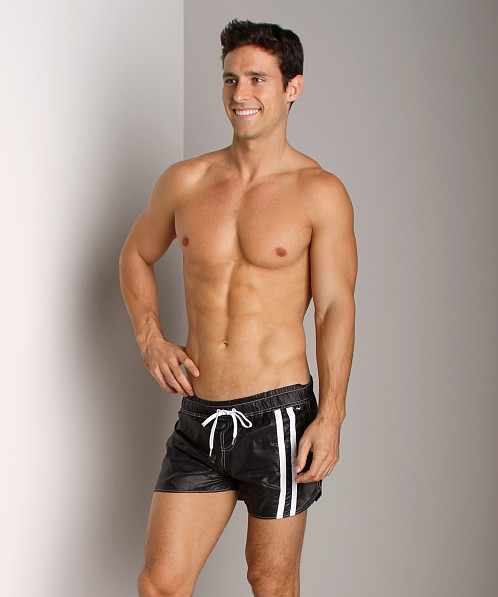 Andrew Christian Speedway Swim Shorts Black