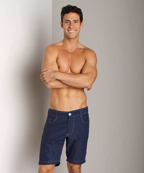 Andrew Christian Street Swim Shorts Navy
