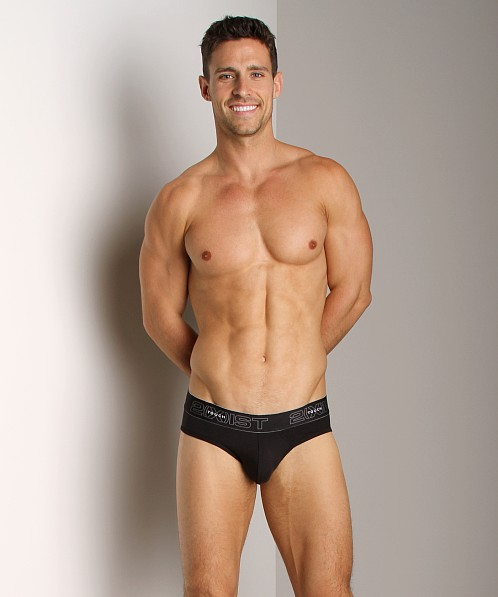 2xist Touch Ultra Contour Pouch No-Show Brief Black