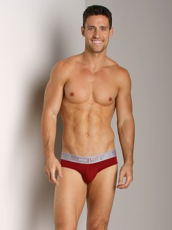 2xist Touch Ultra Contour Pouch No-Show Brief Cranberry/Pebble