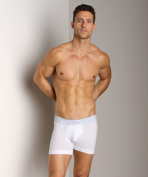 2xist Touch Ultra Contour Pouch Boxer Brief White