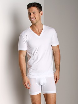 2xist Touch V-Neck Shirt White