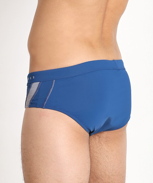 Hugo Boss Rosefish Swim Briefs Blue