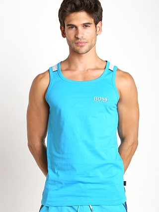 Hugo Boss Beach Tank Top Turquoise