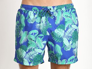 Hugo Boss Piranha Swim Shorts Blue/Green