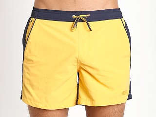 Hugo Boss Snapper Swim Shorts Yellow/Navy