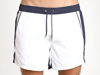 Hugo Boss Snapper Swim Shorts White/Navy