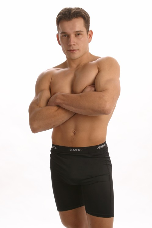 Bike Black Ultimate Compression Shorts 8617 At International Jock