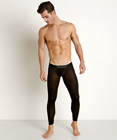 McKillop Max Bulge Modal Long John Black