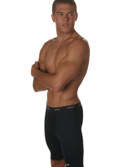 Bike Navy Blue Compression Shorts