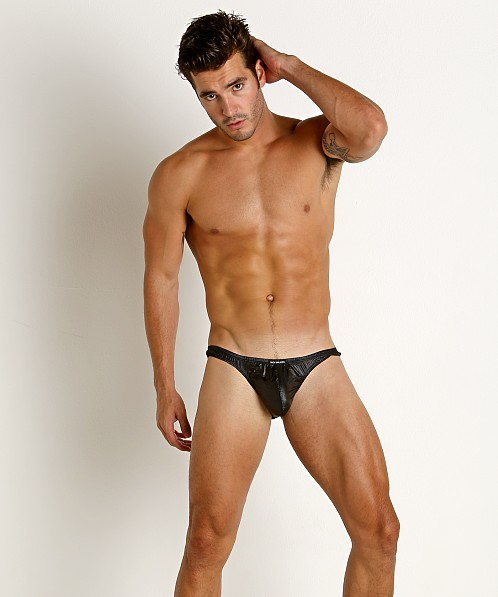 Rick Majors Ripstop Wet Look Briefs Black