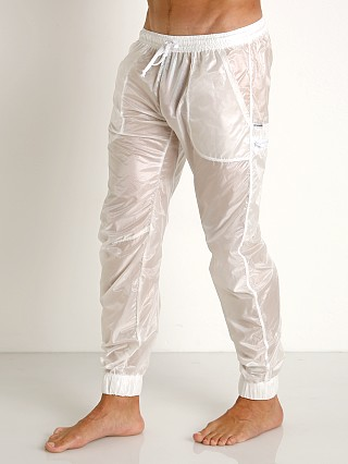 Complete the look: Rick Majors Ripstop Wet Look Cargo Pants White