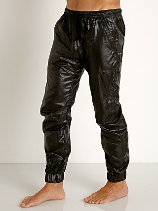 Complete the look: Rick Majors Ripstop Wet Look Cargo Pants Black