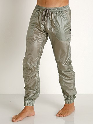 Complete the look: Rick Majors Ripstop Wet Look Cargo Pants Steel