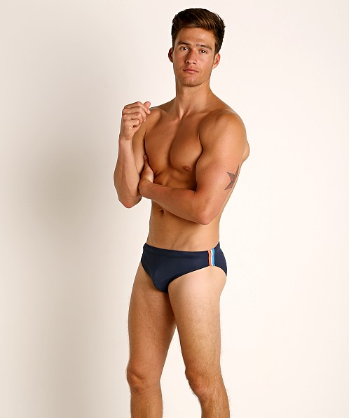 "Sundek 2.5"" Archangel Swim Brief Dark Blue #7"