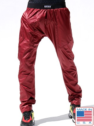 Rufskin Lift UltraSport Wet Nylon Training Pants Maroon