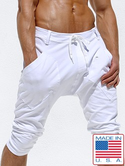 Rufskin Ohm Cotton Yoga Pants White