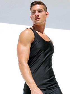 Rufskin Shazam! Tank Top Black
