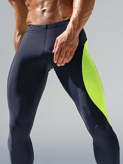 Rufskin Vroom! Running Tights Navy