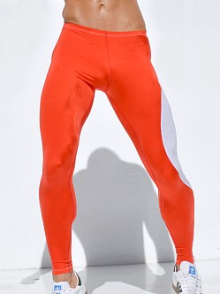 Rufskin Vroom! Running Tights Poppy Red