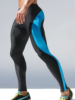 Rufskin Vroom! Running Tights Turquoise