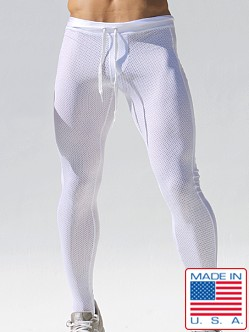 Rufskin Ricky Mesh Compression Pants White