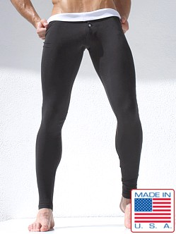Rufskin Tanner Cotton Long Johns Black