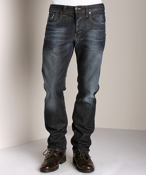 G-Star Attacc Straight Jeans Hawk Denim