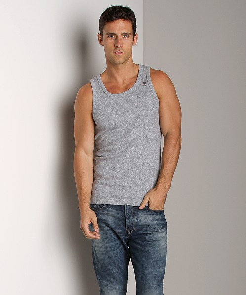 G-Star Base Tank Top 2-Pack Grey Heather