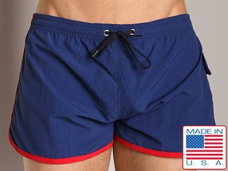 Go Softwear Shane Swim Boxer Navy
