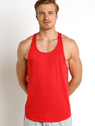 Complete the look: LASC Gym Tank Top Red