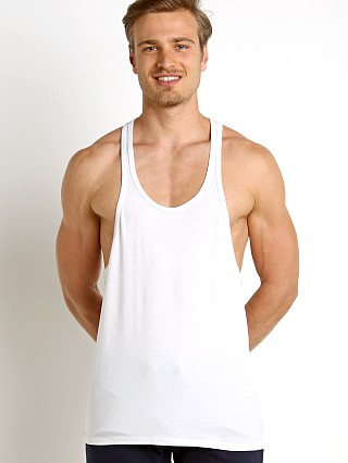 Complete the look: LASC String Tank Top White