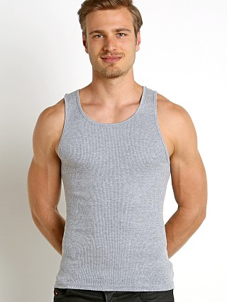 Complete the look: LASC Classic Ribbed Tank Top Heather Grey
