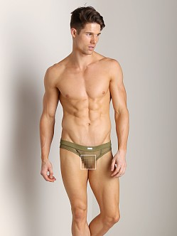 DSQUARED Tulle Brief Military