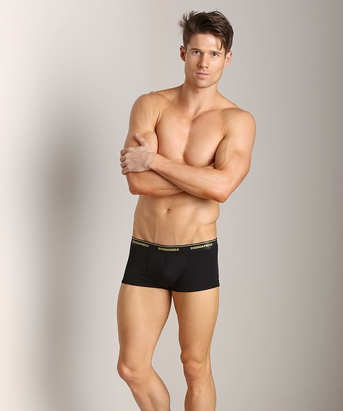 DSQUARED Micro Modal Trunk Black