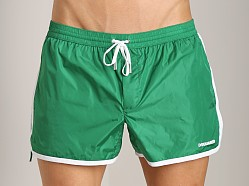 DSQUARED Runner Swim Shorts Green