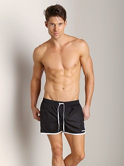 DSQUARED Runner Swim Shorts Black