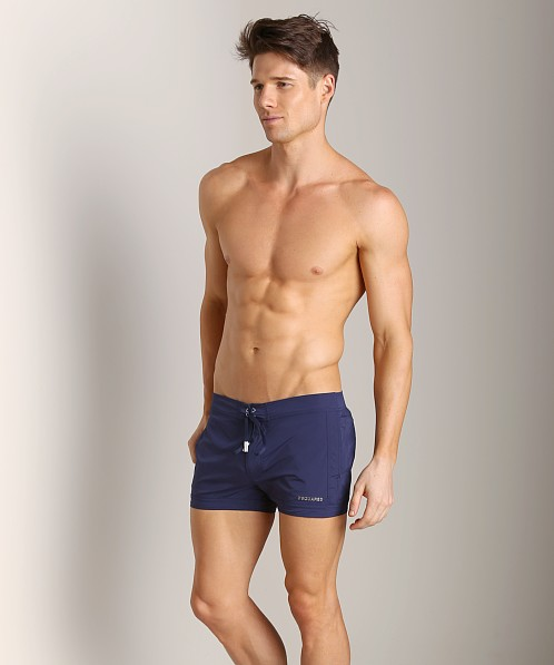 DSQUARED Short Swim Shorts Navy