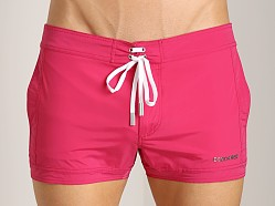 DSQUARED Short Swim Shorts Fuchsia