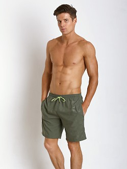 Hugo Boss Orca Swim Trunk Olive