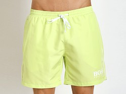 Hugo Boss Starfish Swim Shorts Lime